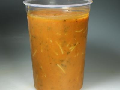 Vers gekookte soepen