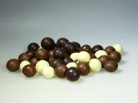 Chocolade hazelnootballen