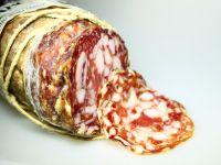 Italiaanse salami van wildzwijn