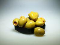 Olijven met chili en paprika